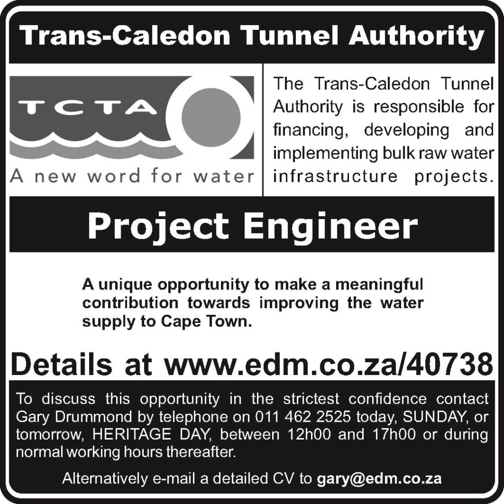 Project Engineer | Water Institute of Southern Africa