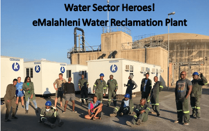 Water Sector Heroes: eMalahleni Water Reclamation Plant Staff